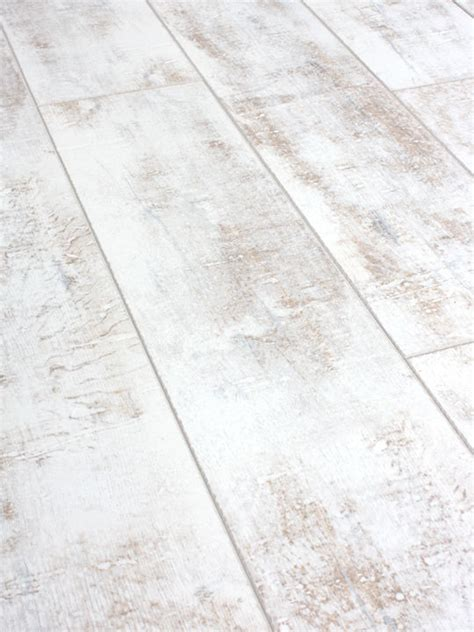 Click On Floors by Sle Of Distressed White Laminate Flooring 12mm Ac4
