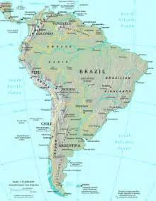 south america world map major ports of the world map of south america