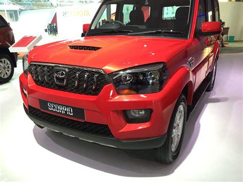 mahindra scorpio new model 2016 mahindra scorpio y pik up autos post