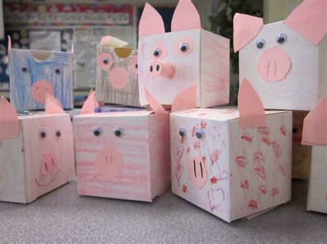 How To Make Paper Piggy Bank - 17 best ideas about piggy banks on