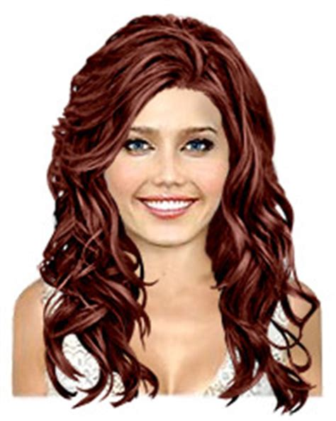 same haircut different color hair color thehairstylercom same haircut different color for wavy long hair