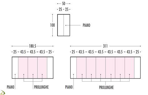 tavolo misure tavolo consolle allungabile olap arredo design