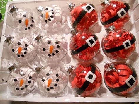 Clear Ornament Ideas - 1000 ideas about clear ornaments on