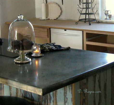 Kitchens Without Backsplash patina zinc countertops kitchen pinterest