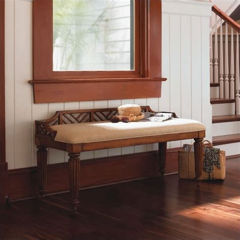 tommy bahama bench tommy bahama home island estate plantain bed bench in