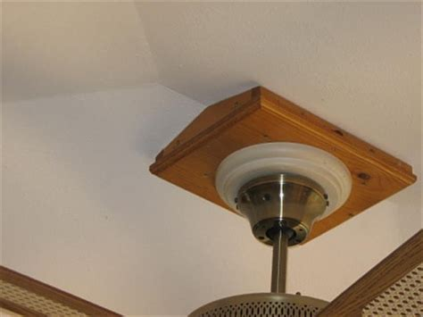 Cathedral Ceiling Fan Mount iron hardware for beams images