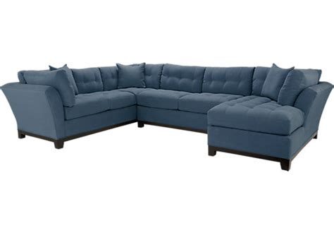 cindy crawford furniture sectional the 148 inch wide cindy crawford metropolis cardinal 3pc