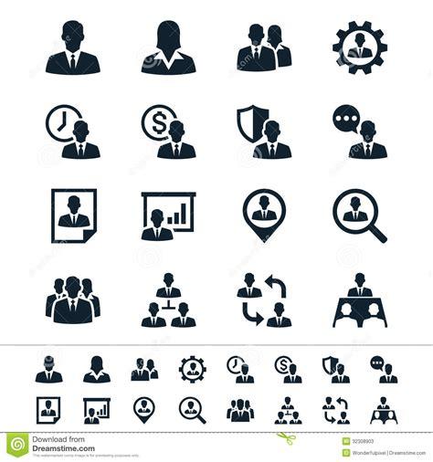 ufficio delle risorse umane icone dell amministrazione delle risorse umane