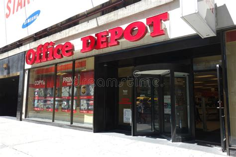Office Depot Stock Office Depot Editorial Stock Photo Image 49764533