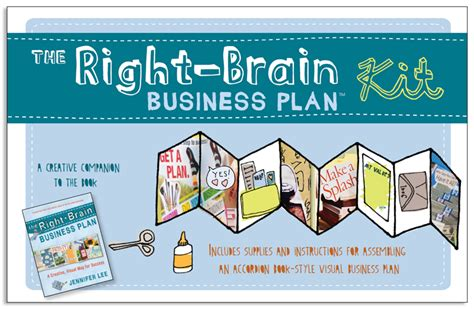 The Right Brain Business Plan 174 Kit The Right Brain Business Plan 174 Creative Business Plan Template Free