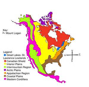 geographic regions of america map physical regions kaitlyn s