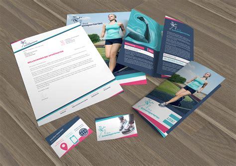 Corporate Design Vorlagen Corporate Design Die Komplettausstattung F 252 R Sport Und Bewegung Psd Tutorials De Shop
