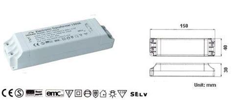 electronic transformer for 12v halogen ls set150ls set150lt halogen trafo 11 5v eff 50 150w
