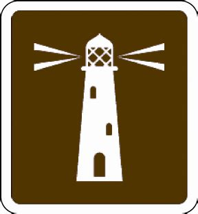 the open boat lighthouse symbol the brown sign way take a look at all 93 brown sign