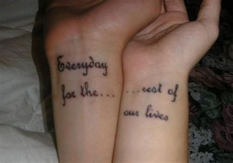 55 matching couple tattoo ideas all lovers will love