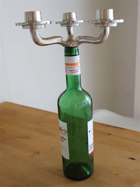 colmore kerzenhalter colmore kerzenhalter f 252 r flasche aufsatz 3 armig alu