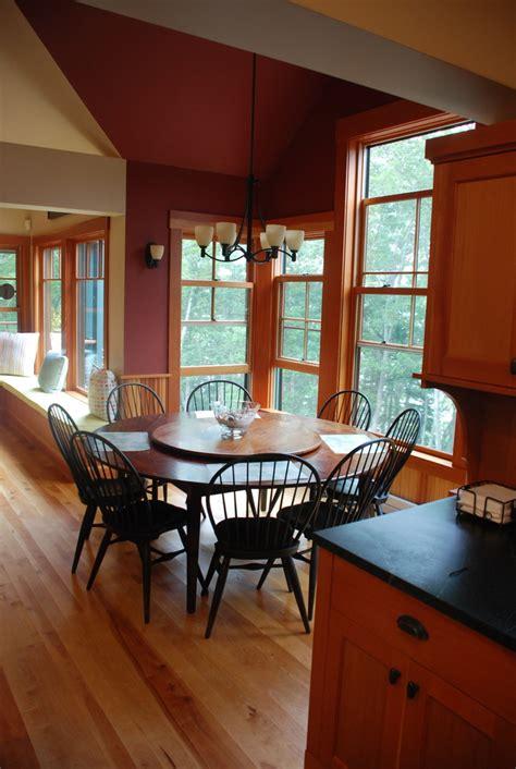 maine harbor craftsman cottage craftsman dining room