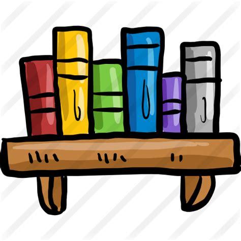 estante para libros iconos gratis de educaci 243 n - Estantes Para Libros Gratis