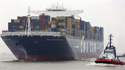 biggest shipping vessel in the world monster machines the world s largest container ship