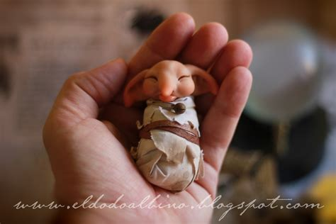 house elf baby house elf ooak sculpt sold by dodoalbino on deviantart