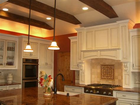 tray ceiling kitchen woodland tray ceiling kitchen traditional kitchen