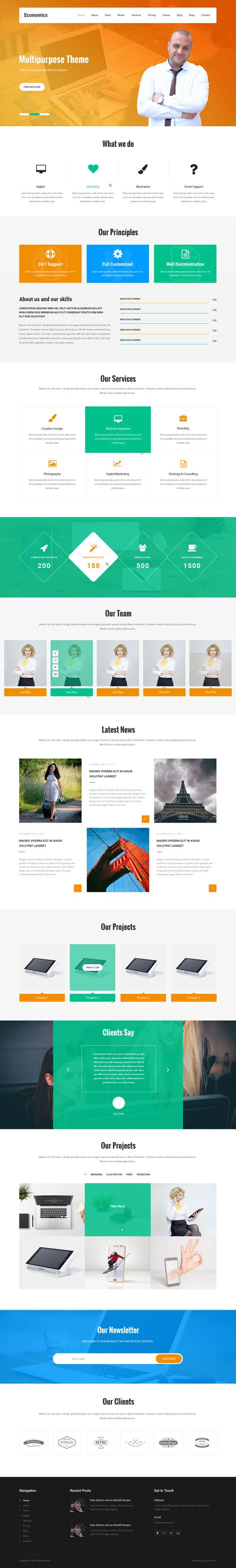 themes wordpress minimal clean and minimal wordpress theme