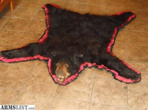 bearskin rug for sale armslist for sale quot beautiful quot black skin rug
