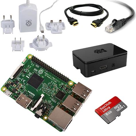 raspberry pi kit raspberry pi 3 8gb starter media centre kit 2016 model