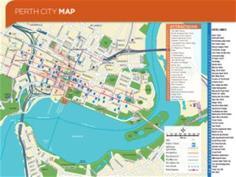 printable map perth city maps hello perth