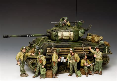 d day figures king country s fury tank and d day figures available at