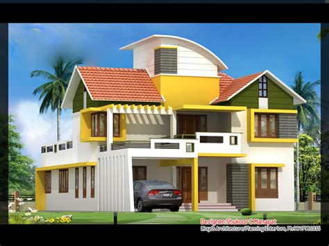 contemporary style kerala home design 2563 square feet 4 bedroom contemporary and kerala style