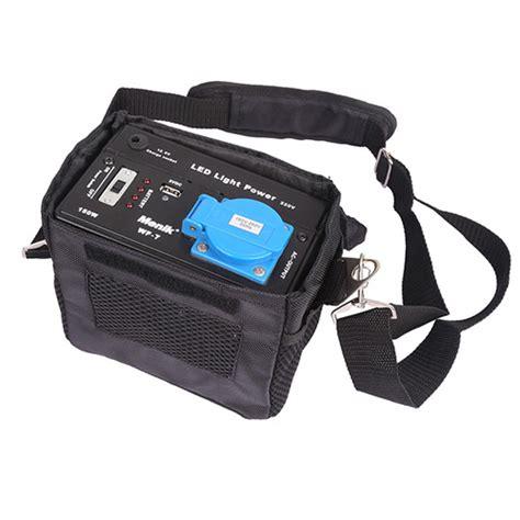 portable battery pack for lights wf 7 battery pack for led studio lighting