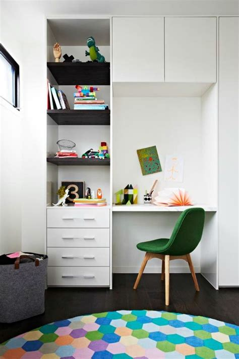 built in study table 24 ways to decorate and organize a study nook