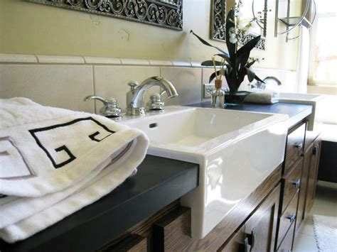 Composite Countertops by Composite Bathroom Countertops Hgtv