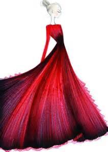 Valentino dress fashion illustration evatornadoblog valentino
