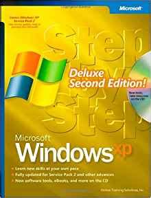 windows 10 step by step 2nd edition books microsoft 174 windows 174 xp step by step deluxe