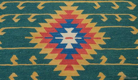 orange kilim rug k0010797 orange green new turkish kilim runner rug