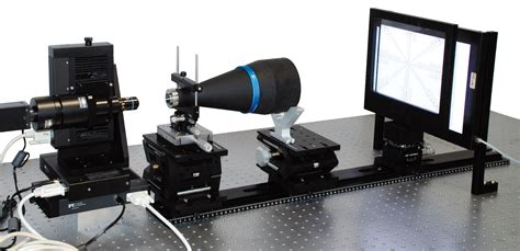 optical test bench bi telecentric technology opto engineering
