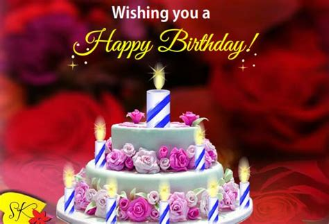 Beautiful Birthday Ecard Wit Ers Free Happy Birthday