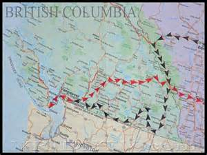 map of alberta and columbia canada images