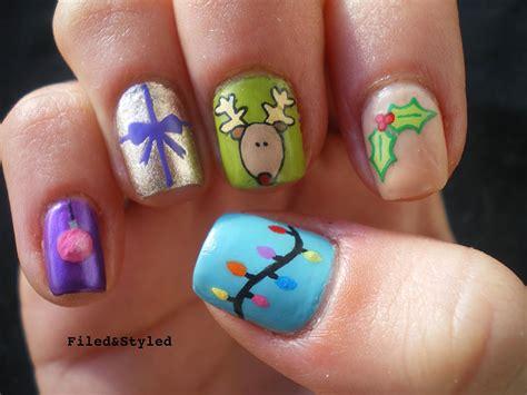 imagenes de uñas pintadas para navidad decoraci 243 n de u 241 as navide 241 as 31 ideas de dise 241 os para navidad