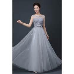 2017 cheap plus size fairy long bridesmaid dresses scoop