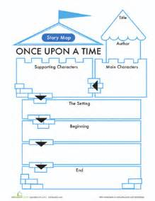 First grade comprehension writing stories worksheets fairy tale story