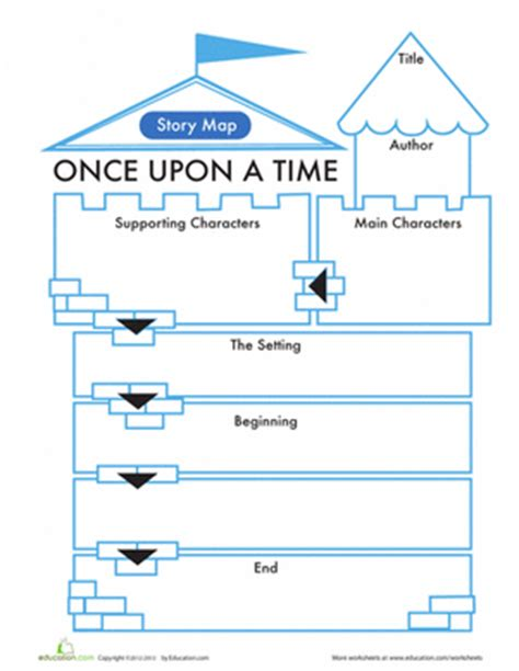 15 printable story maps education com