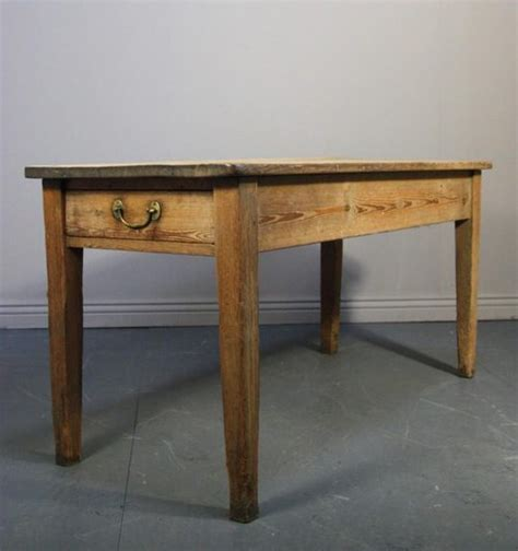 georgian country house antique pine kitchen table