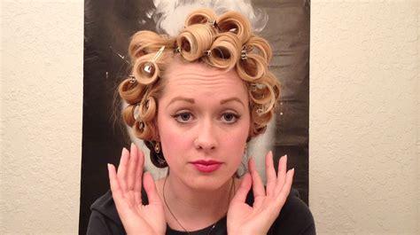 Friseur Clip Marilyn Monroe Glamour Curls Vintage Hair Tutorial