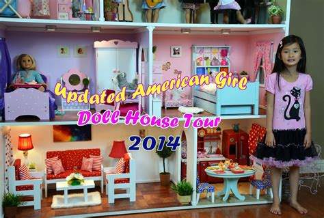 my ag doll house huge american girl doll house tour 2014 youtube