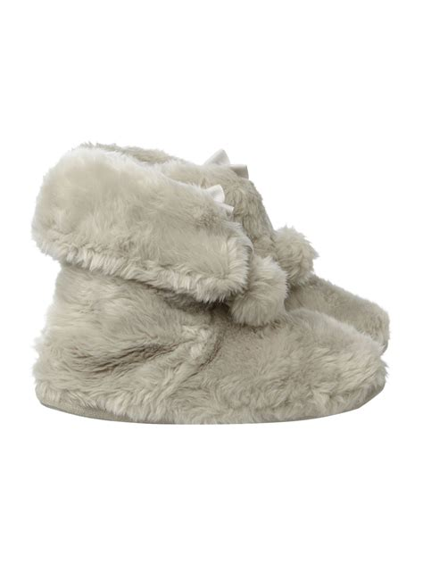 therapeutic slippers therapy pom pom slipper boot in gray lyst