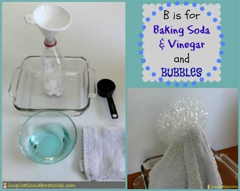 baking soda and bubbles science experiment the b is for baking soda and vinegar bubbles sodas
