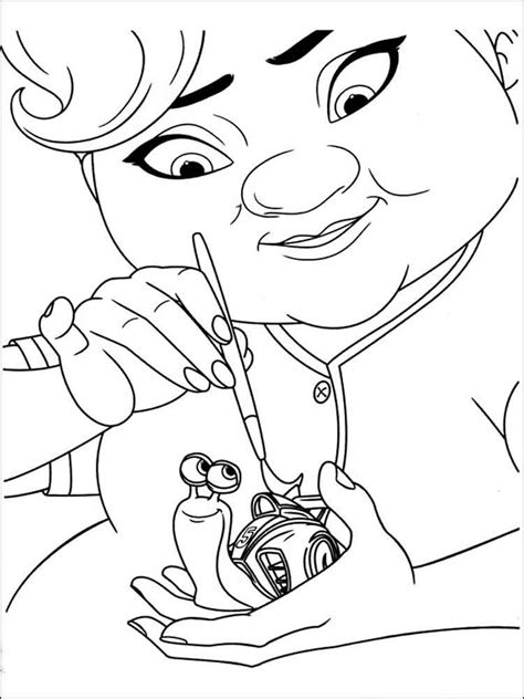 Dreamworks Turbo Coloring Pages Free Printable Dreamworks Dreamworks Coloring Pages